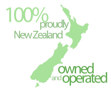 Proudly NZ Owned and Operated